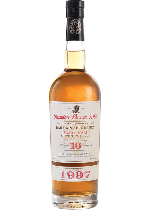 Bottle of Alexander Murray 1997 Dailuaine whiskey