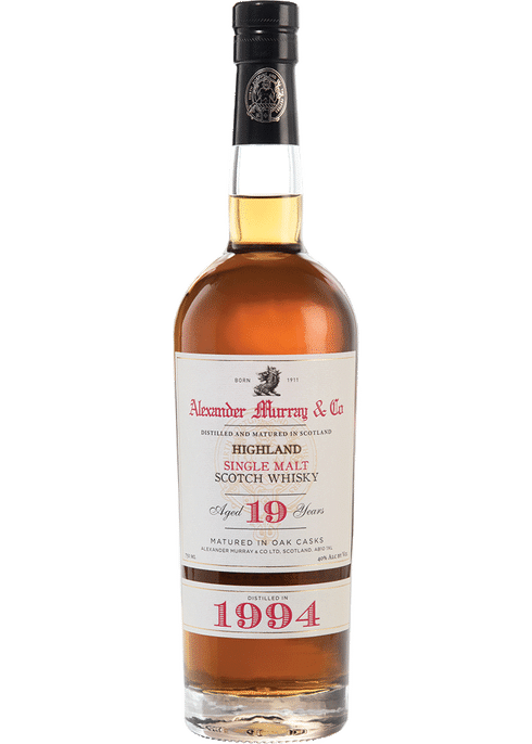 Bottle of Alexander Murray Highland Sherry Finish whiskey