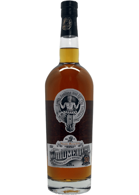 Bottle of Alexander Murray Monumental Blend 30 Yr whiskey