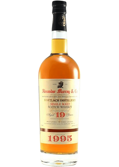 Bottle of Alexander Murray Mortlach 19 Yr whiskey