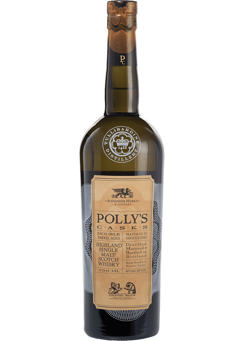 Bottle of Alexander Murray Polly's Cask whiskey