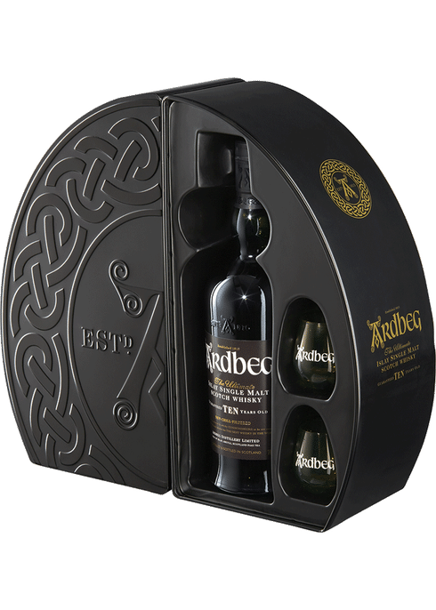 Bottle of Ardbeg Quadrant whiskey