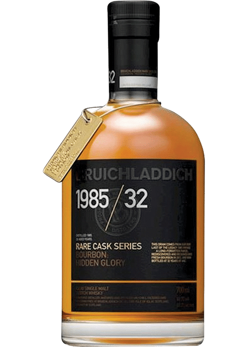 Bottle of Bruichladdich Old & Rare 1985 32 Years Old whiskey