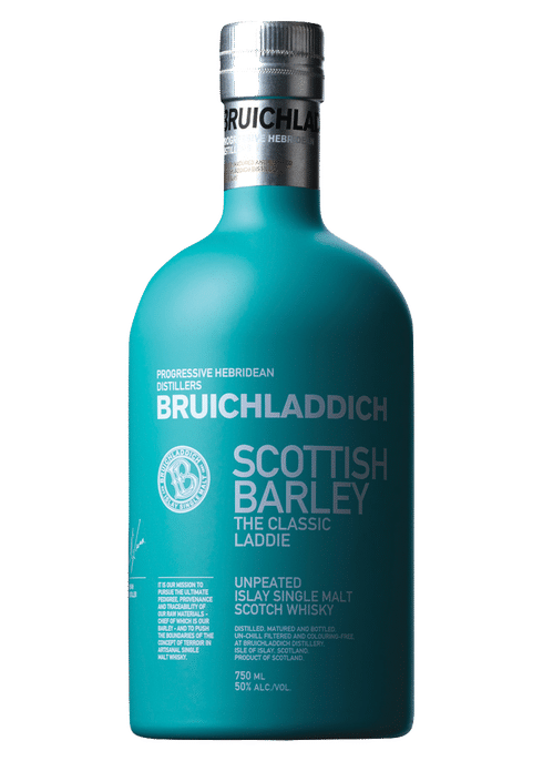 Bottle of Bruichladdich The Classic Laddie whiskey