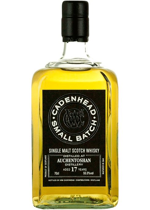Bottle of Cadenhead Auchentoshan 1999 17 Years Old whiskey