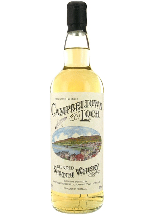 Bottle of Campbeltown Loch whiskey