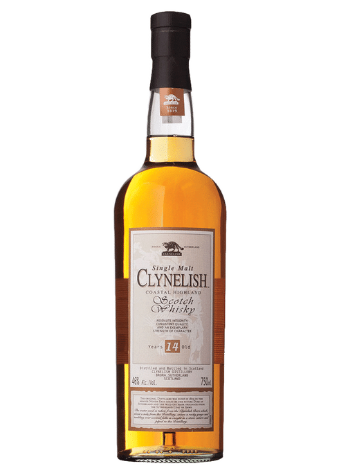 Bottle of Clynelish 14 Years Old whiskey