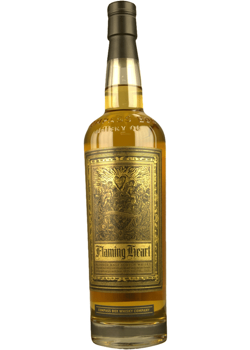 Bottle of Compass Box Flaming Heart whiskey