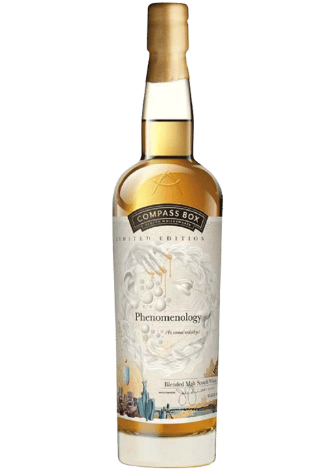 Bottle of Compass Box Phenomenology whiskey