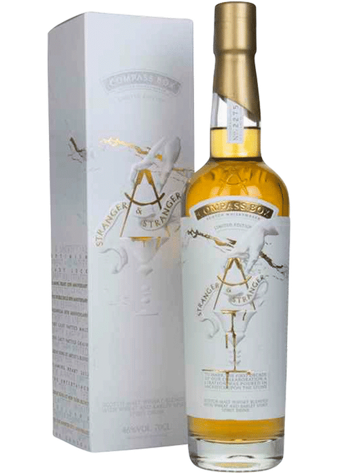 Bottle of Compass Box Stranger & Stranger whiskey