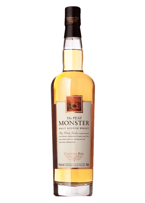 Bottle of Compass Box The Peat Monster whiskey