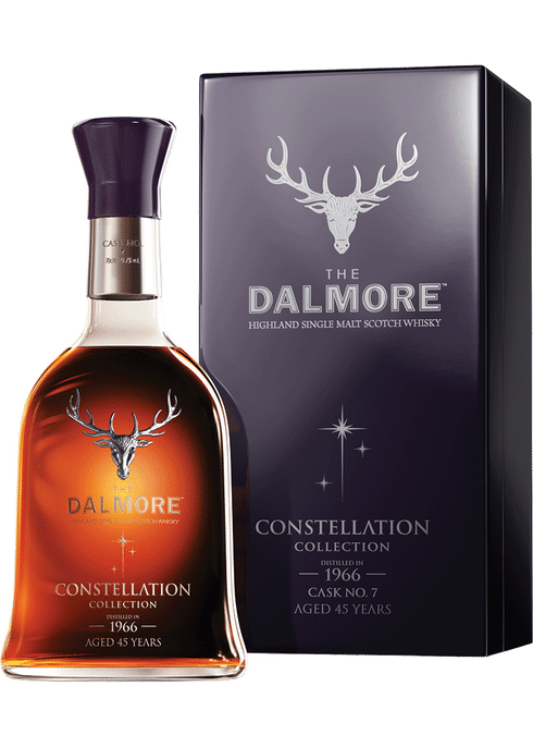 Bottle of Dalmore Constellation 1966 whiskey