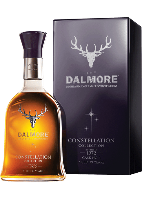 Bottle of Dalmore Constellation 1972 whiskey