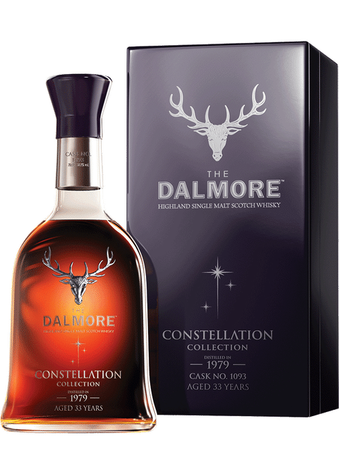 Bottle of Dalmore Constellation 1979 whiskey