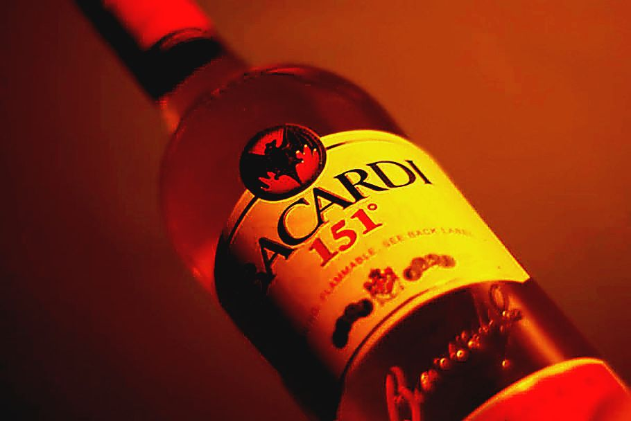 Bacardi 151 bottle