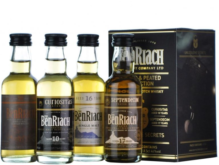 benriach whisky varieties