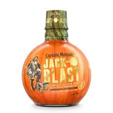 captain morgan jack-o blast bottle