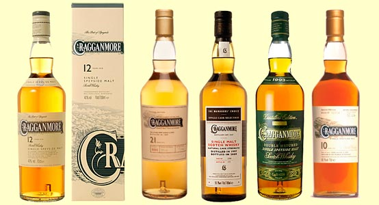 cragganmore whiskies