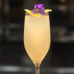 floral french 75
