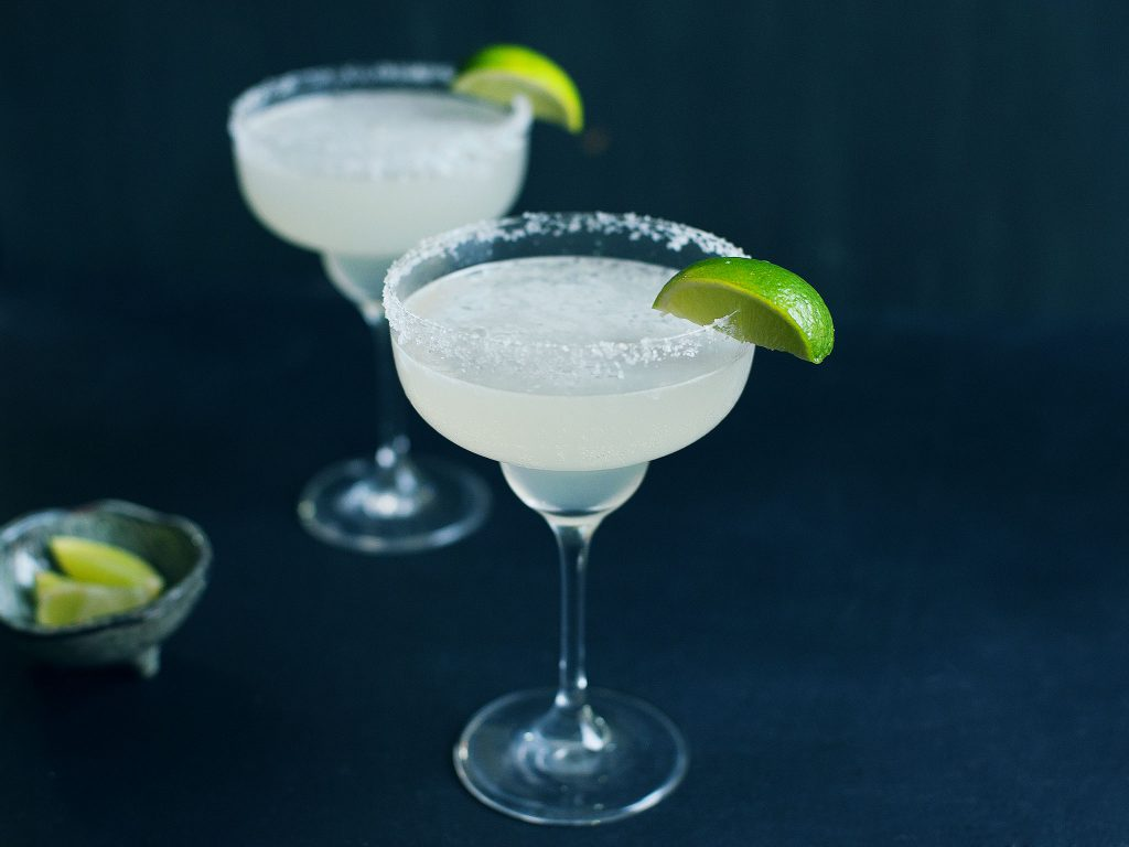 margarita in a coupe