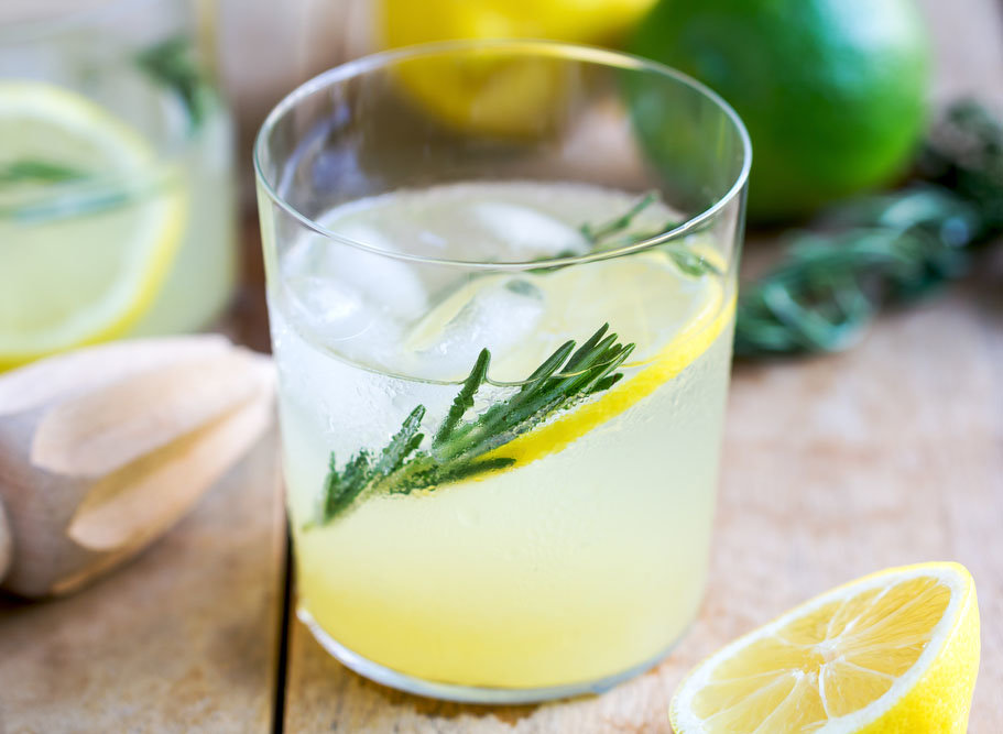 vodka rosemary collins cocktail