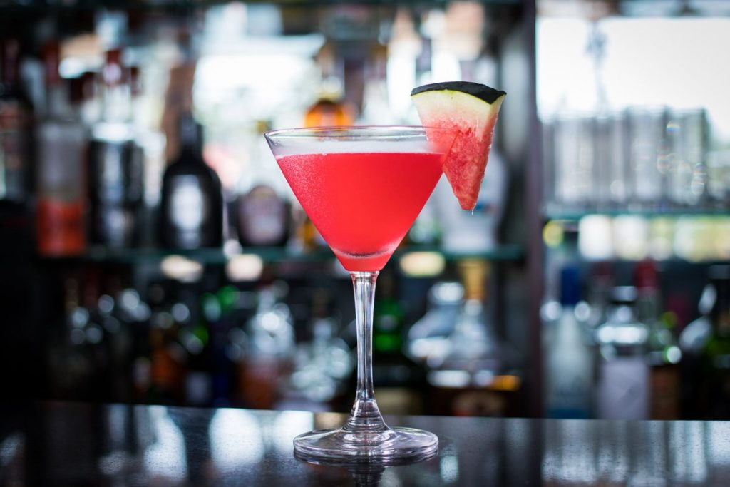 watermelon-martini-on-table