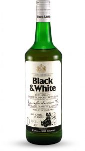 whisky black & white
